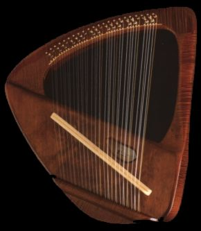 Picture of a Descant Lyre